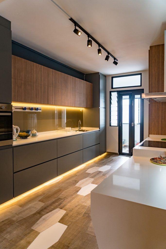بازسازی داخلی آپارتمان